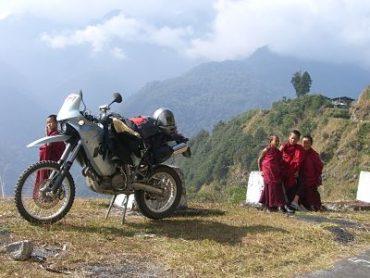 Bhutan på MC: Bumthang - Mongar