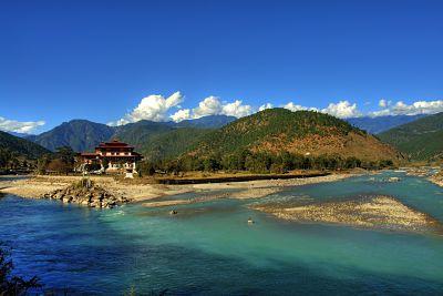 Bhutan: Punakha – Trongsa på MC