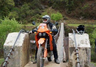 Bhutan på motorsykkel
