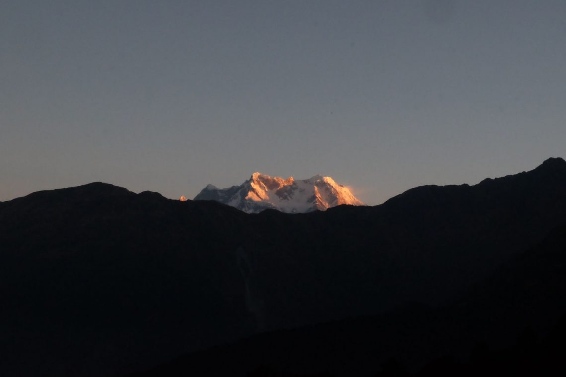 Om the top of the world - Himalaya