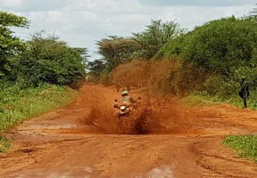 mc-safari i Afrika
