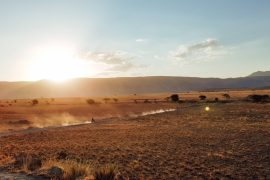 Offroad motorsykkeltur i Tanzania med safari