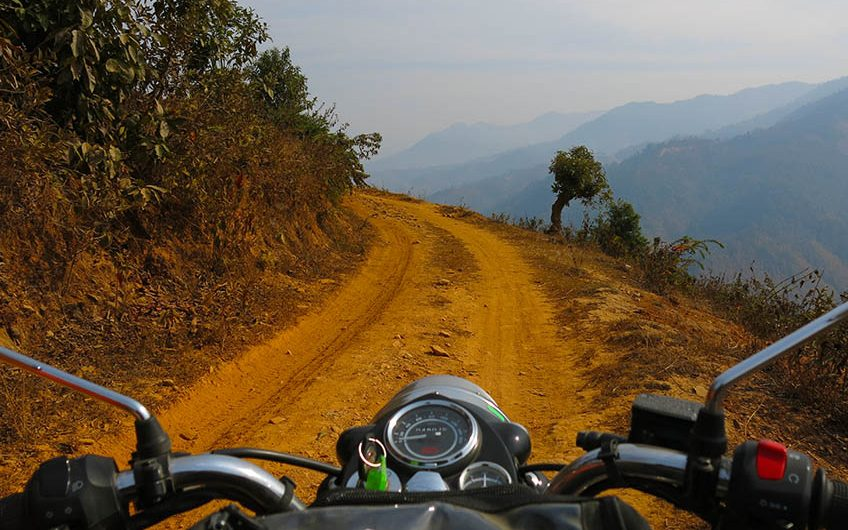 veien til kaffeplantasjen Mount Everest View Tour